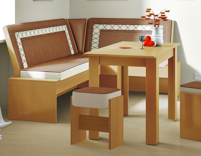 Кухонный уголок Кантри Т1 исполнение 1