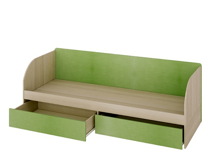 Кровать с 2-мя ящиками Киви 139.02