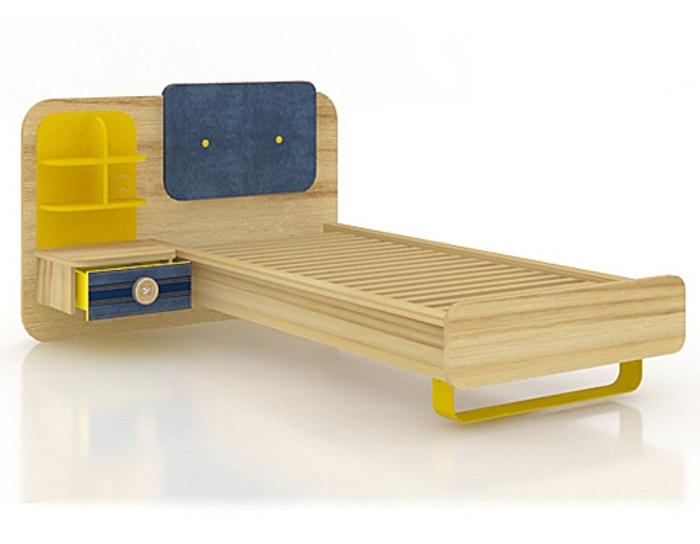 Кровать с тумбой Джинс 507.100