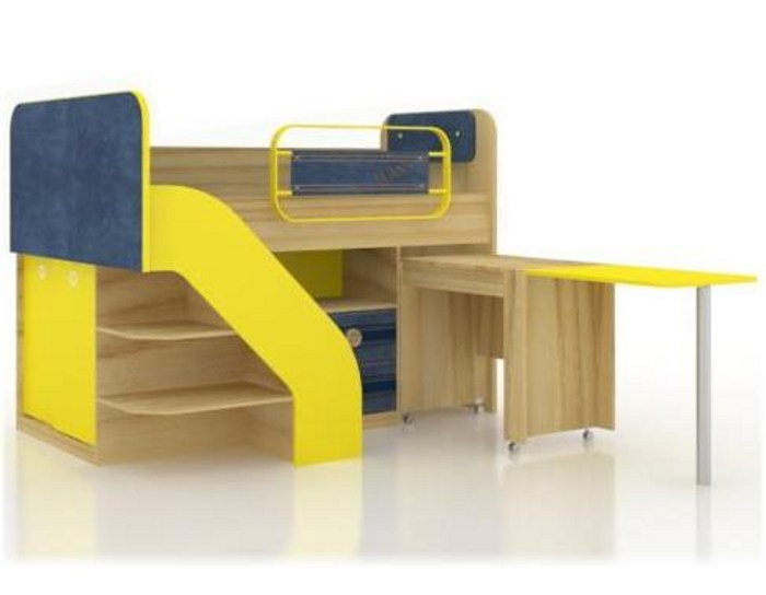 Кровать комбинированная Джинс 507.140