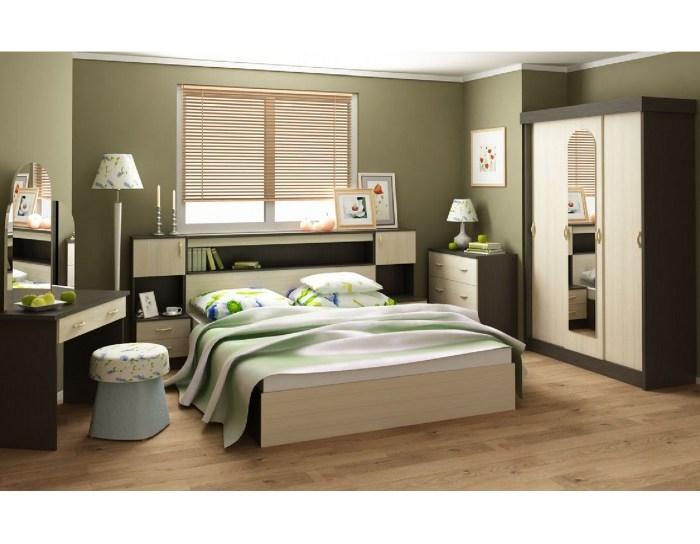 Спальня модульная Бася