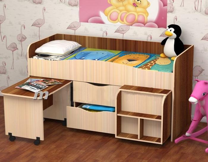 Детская кровать Гномик