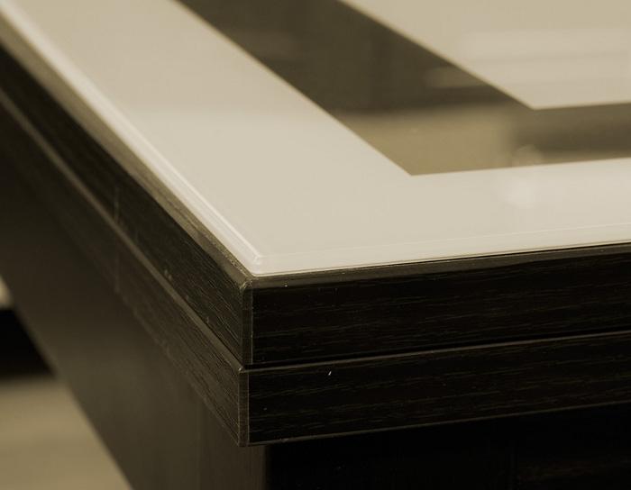 Стол раскладной стеклянный Диез Т4 с рисунком