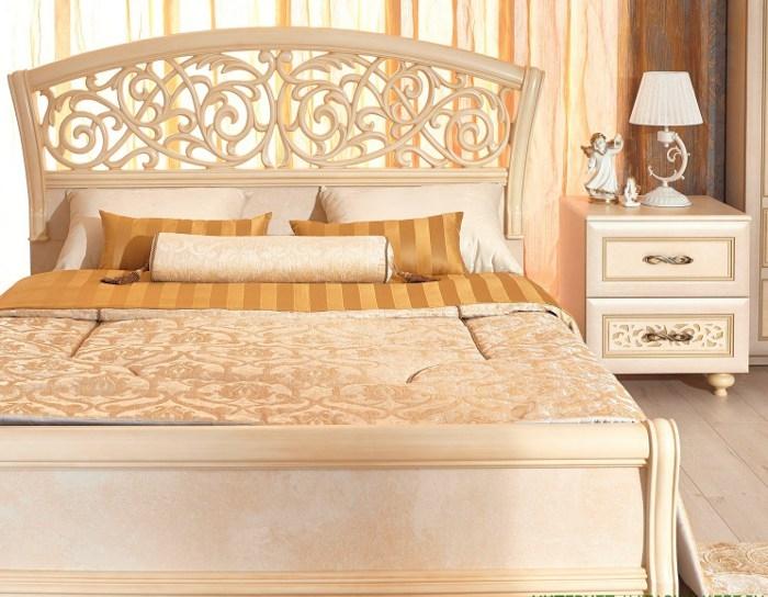 Мебель для спальни александрия кожа ленто в интерьере фото