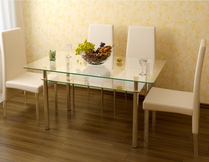 Стол стеклянный Рио-3