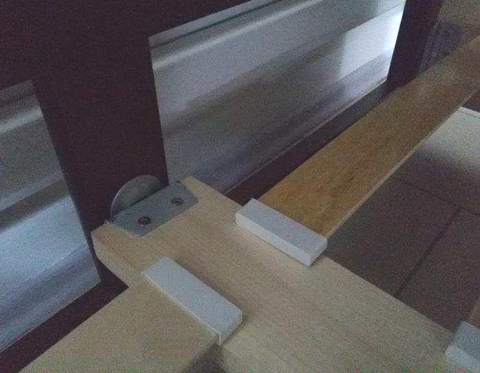 Кровать деревянная Кристина-1