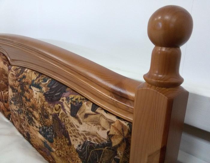 Кровать деревянная Сказка