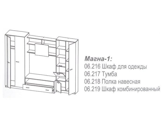 Стенка Магна-1 АКЦИЯ
