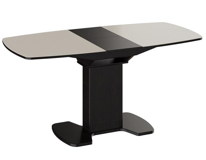 Стол раскладной стеклянный Портофино 1100