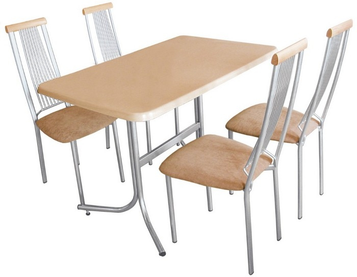 Стол на металлокаркасе С-750