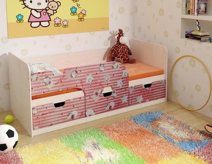Детская кровать Минима Китти