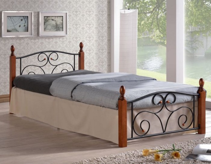 Кровать кованая AF 213 DD