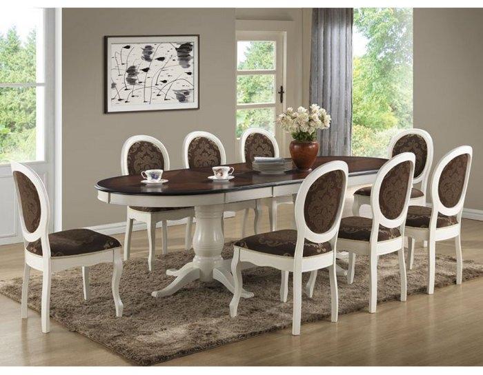 Обеденная группа Стол Princess PR-T8EX со стульями Fiona FN-SC