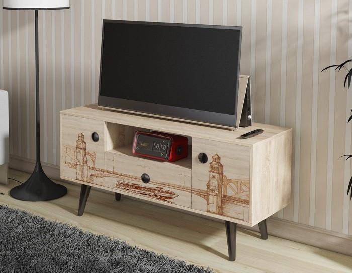 Тумба TV-25 с рисунком