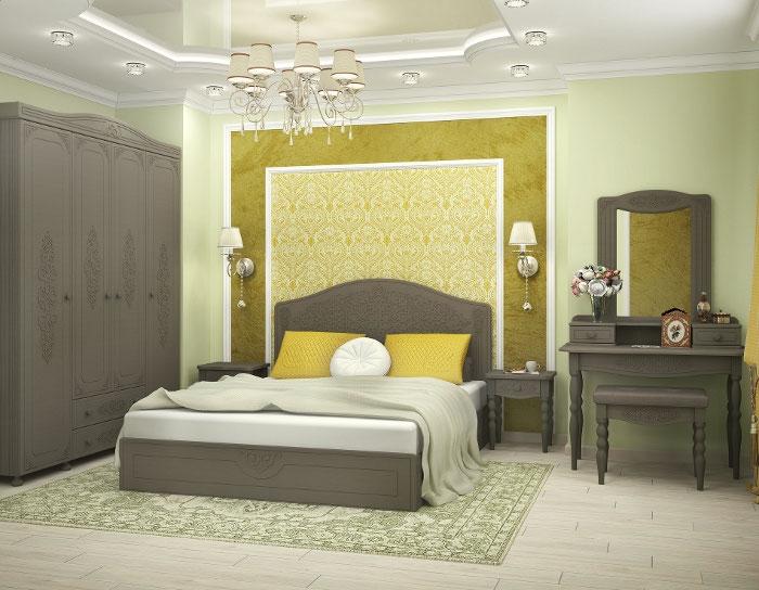 Модульная спальня Ассоль плюс