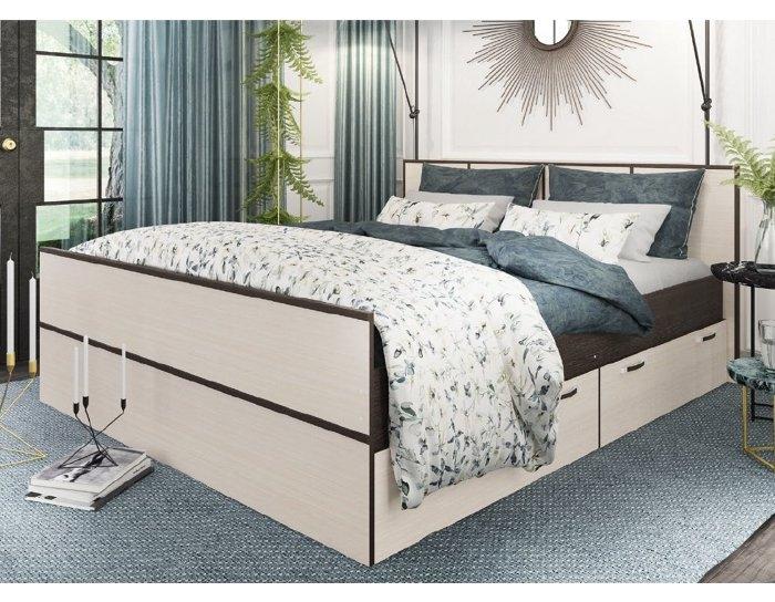 Кровать с ящиками Весна
