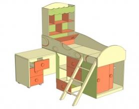 Кровать комбинированная Фруттис 503.010