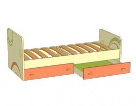 Кровать с ящиками Фруттис 503.020