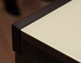 Стол раскладной стеклянный Диез Т4