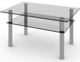 Журнальный стеклянный стол Беседа