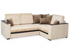 Аметист диван угловой с полукреслом