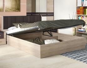 Кровати с подъемным механизмом Ларго мягкая спинка