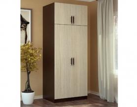 Шкаф 2-х дверный с антресолью