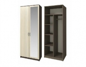 Шкаф 2-х дверный ШК-20 с зеркалом