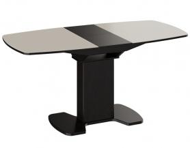 Стол раскладной стеклянный Портофино 1300