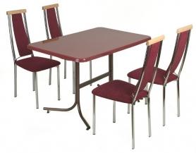Стол на металлокаркасе С-700