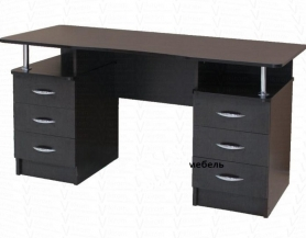 Письменный стол двухтумбовый