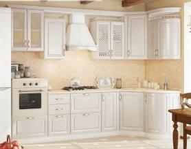 Модульная кухня Юлия белая