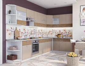 Модульная кухня Адель какао
