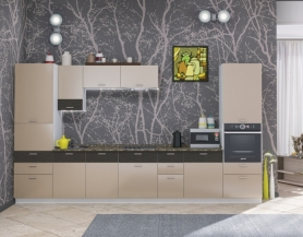 Модульная кухня Адель венге