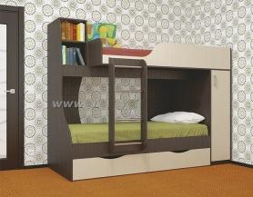 Кровать детская 2-ярусная Башмачок