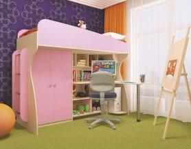 Детская кровать-чердак Маугли