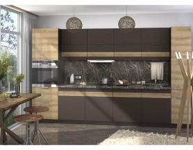 Модульная кухня Терра смоки софт